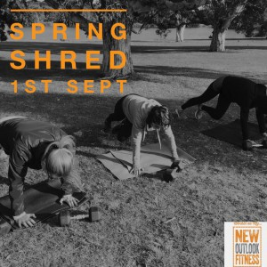 Nat Carter's Spring Shred Starts 1st September 2015
