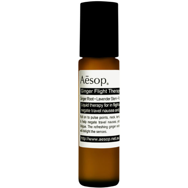 Aesop Ginger Flight Therapy Review: Natural Remedy For Motion Sickness