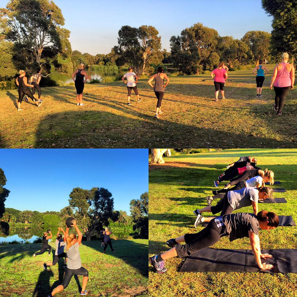 Nat Carter's Outdoor Fitness Training Program Sydney