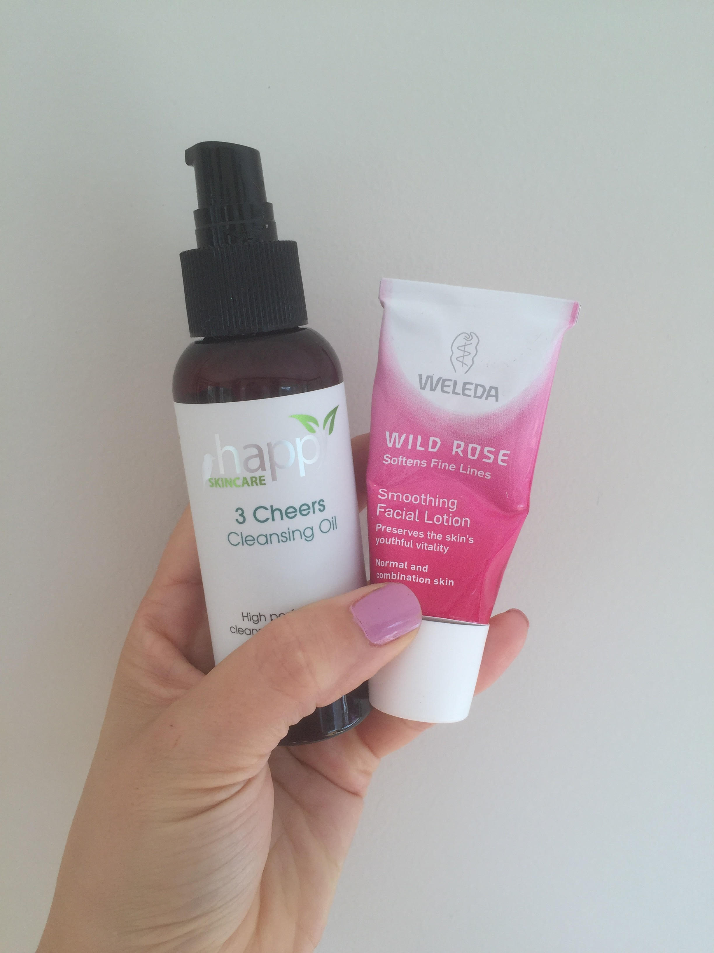 Natural Skincare Review: Happy Skincare & Weleda