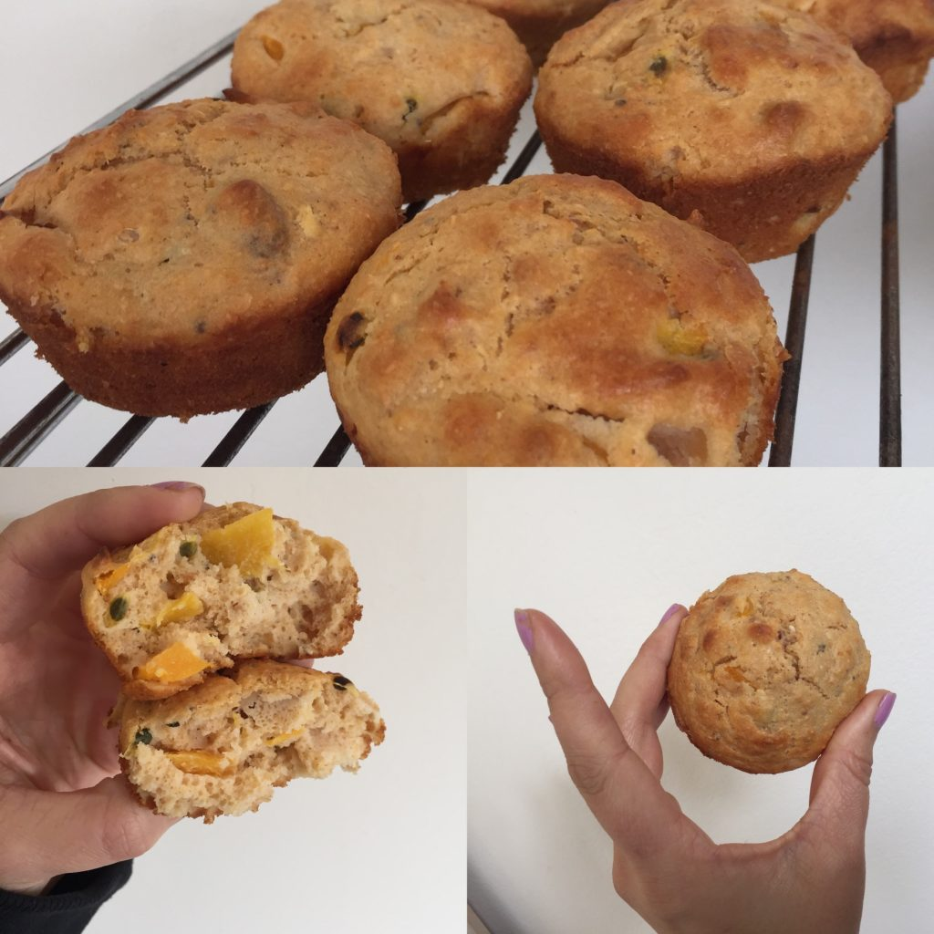 Peach & Passionfruit Muffins (No Added Sugar)