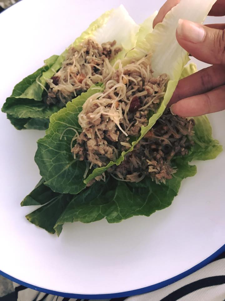 Quick Low Carb Idea: Lettuce Boats