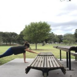 Exercise Anywhere: Bodyweight & Bench Workout